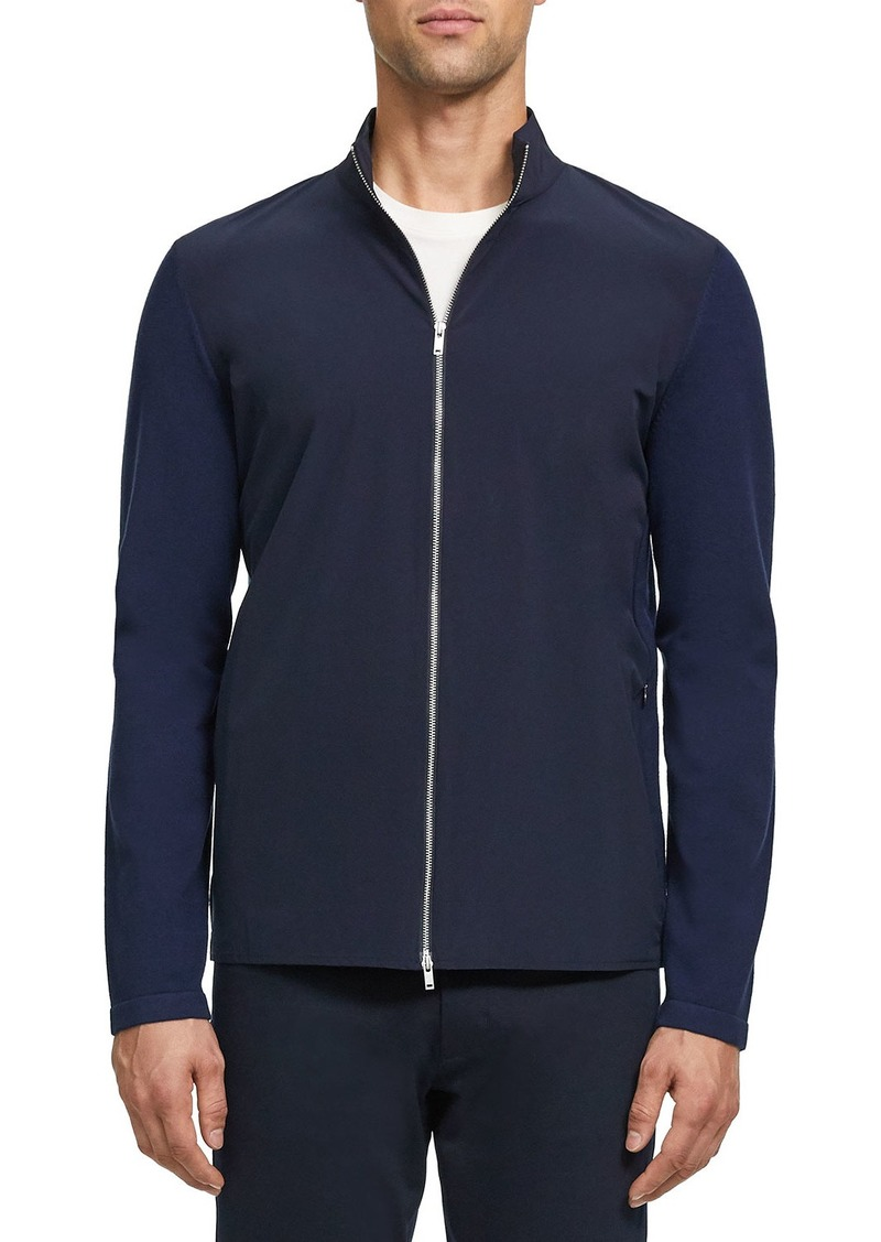 Theory Men's Bellvil Fine Bilen Sweater Jacket