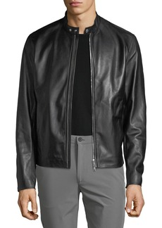 Theory Men's Benji Wynwood Leather Jacket