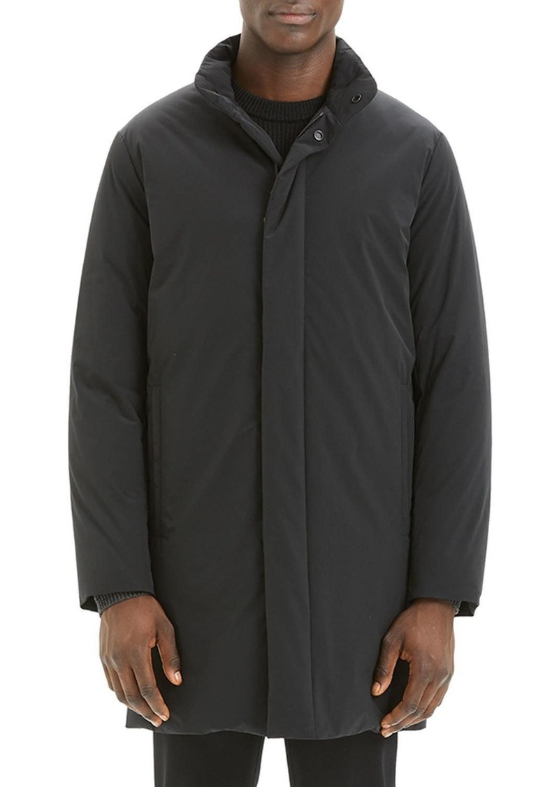 Theory Men's Brazo Paper-Nylon Topcoat