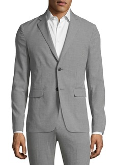 Theory Men's Clinton Houndstooth Two-Button Jacket