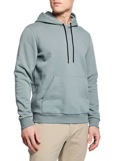Theory Men's Cure Fleece Colorfield Hoodie