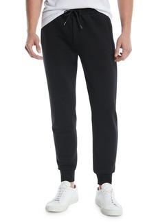 Theory Men's Cure Fleece Drawstring Hybrid Jogger Sweatpants