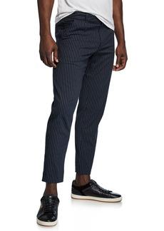 Theory Men's Curtis Kamino Striped Pants