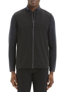 Theory Men's Detroe Milos Zip-Front Sweater