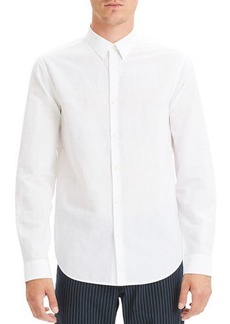 Theory Men's Essential Linen Irving Sport Shirt