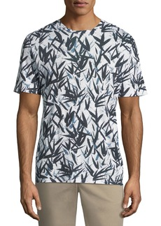 Theory Men's Graphic Pinal Linen Jersey T-Shirt