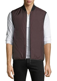 Theory Men's Greene Zip-Front Puffer Vest