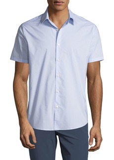 Theory Men's helix Print Sport Shirt