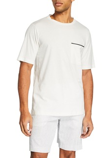 Theory Men's Ideal Jersey Neo Pocket T-Shirt