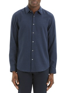 Theory Men's Irving Beacon Textured Sport Shirt
