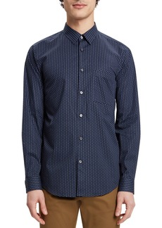 Theory Men's Irving Connel-Print Sport Shirt