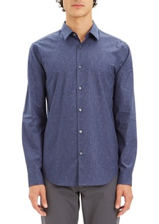 Theory Men's Irving Dot-Print Sport Shirt
