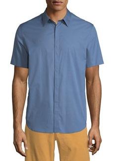 Theory Men's Irving Poplin Short-Sleeve Sport Shirt