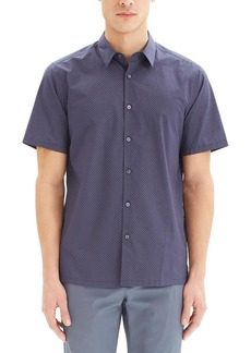 Theory Men's Irving Sillar Short-Sleeve Sport Shirt
