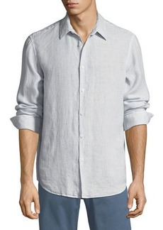 Theory Men's Irving Summer Linen Sport Shirt