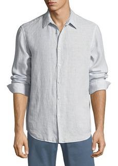 Theory Men's Irving Summer Linen Sport Shirt