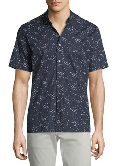 Theory Men's Murrary Scatter-Print Short-Sleeve Sport Shirt