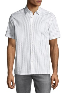 Theory Men's Murray Polka Dot Short-Sleeve Sport Shirt