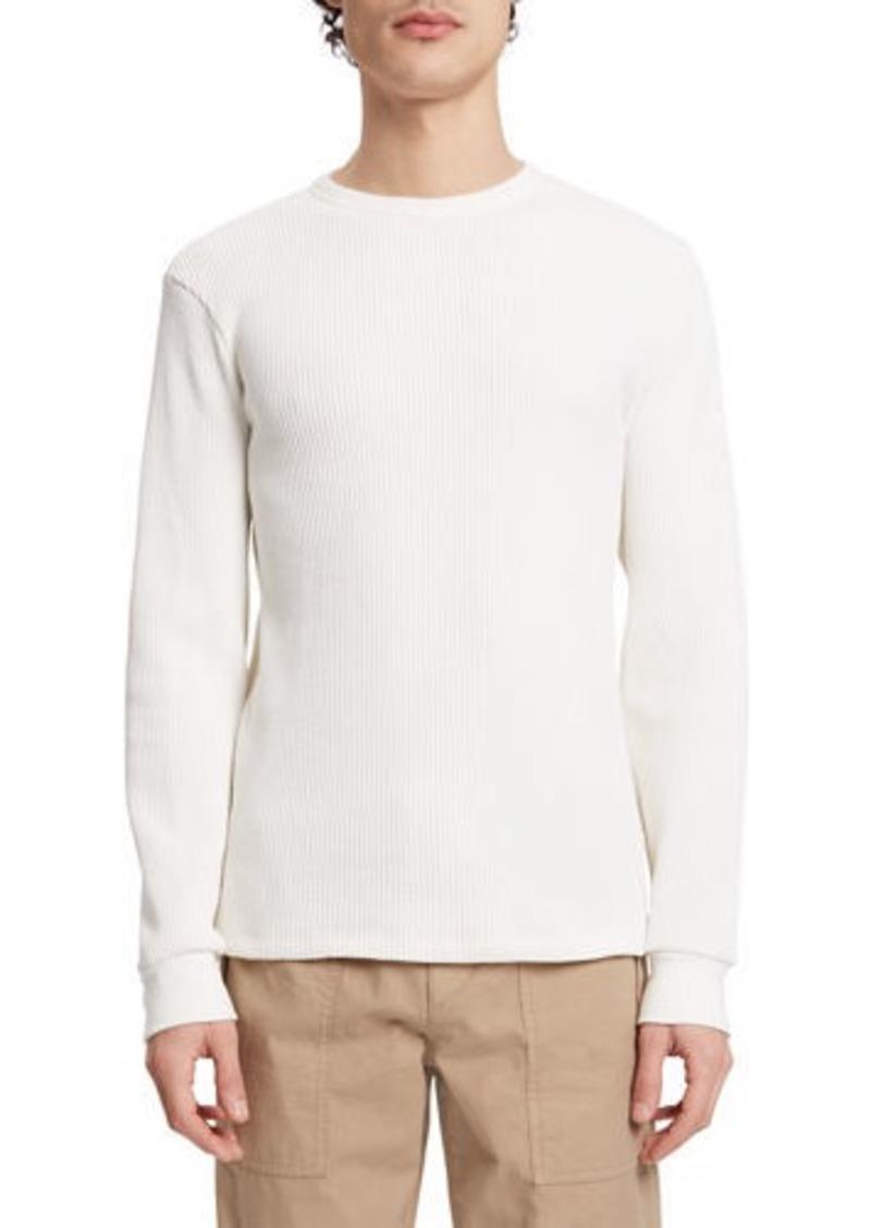 Theory Men's Organic Waffle Bound Sweatshirt