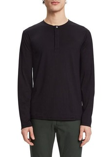 Theory Men's Plaito Clean Henley Shirt