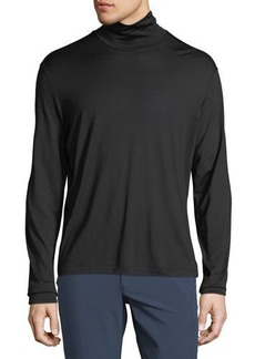 Theory Men's Plaito Funnel Neck Shirt