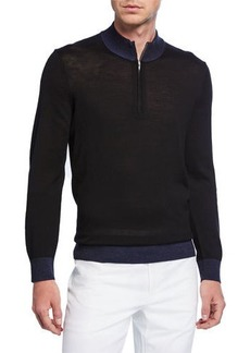 Theory Men's Rothley Quarter-Zip Sweater