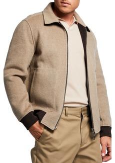 Theory Men's Sean Reversible Cashmere Jacket