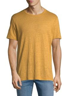 Theory Men's Storm Linen Essential T-Shirt