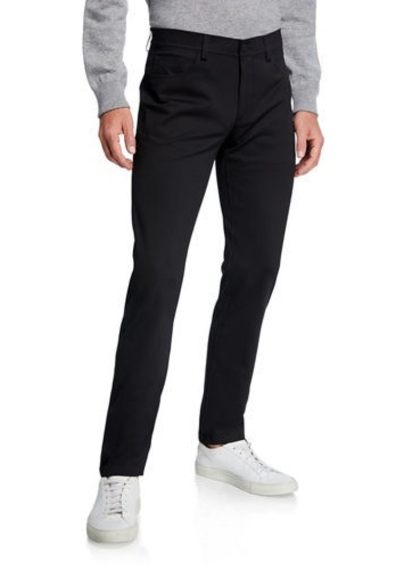 Theory Men's Tech Raffi Compact Ponte Pants