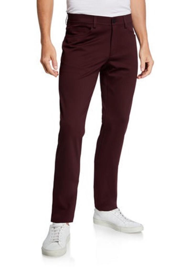 Theory Men's Tech Raffi Compact Ponte Pants