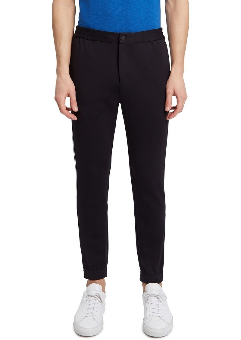 Theory Men's Terrance Tech-Face Ponte Pants