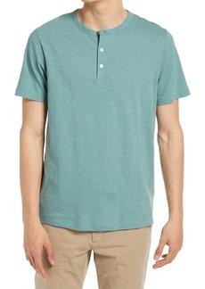 Men's Theory Regular Fit Slub Henley T-Shirt
