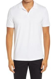 Men's Theory Willem Flame Regular Fit Short Sleeve Slub Jersey Polo