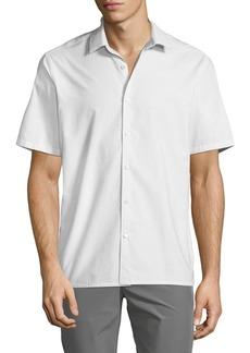 Theory Men's Tick Shirting Irving Sport Shirt