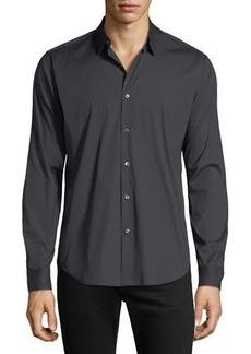 Theory Men's Wealth Sylvain Slim-Fit Sport Shirt