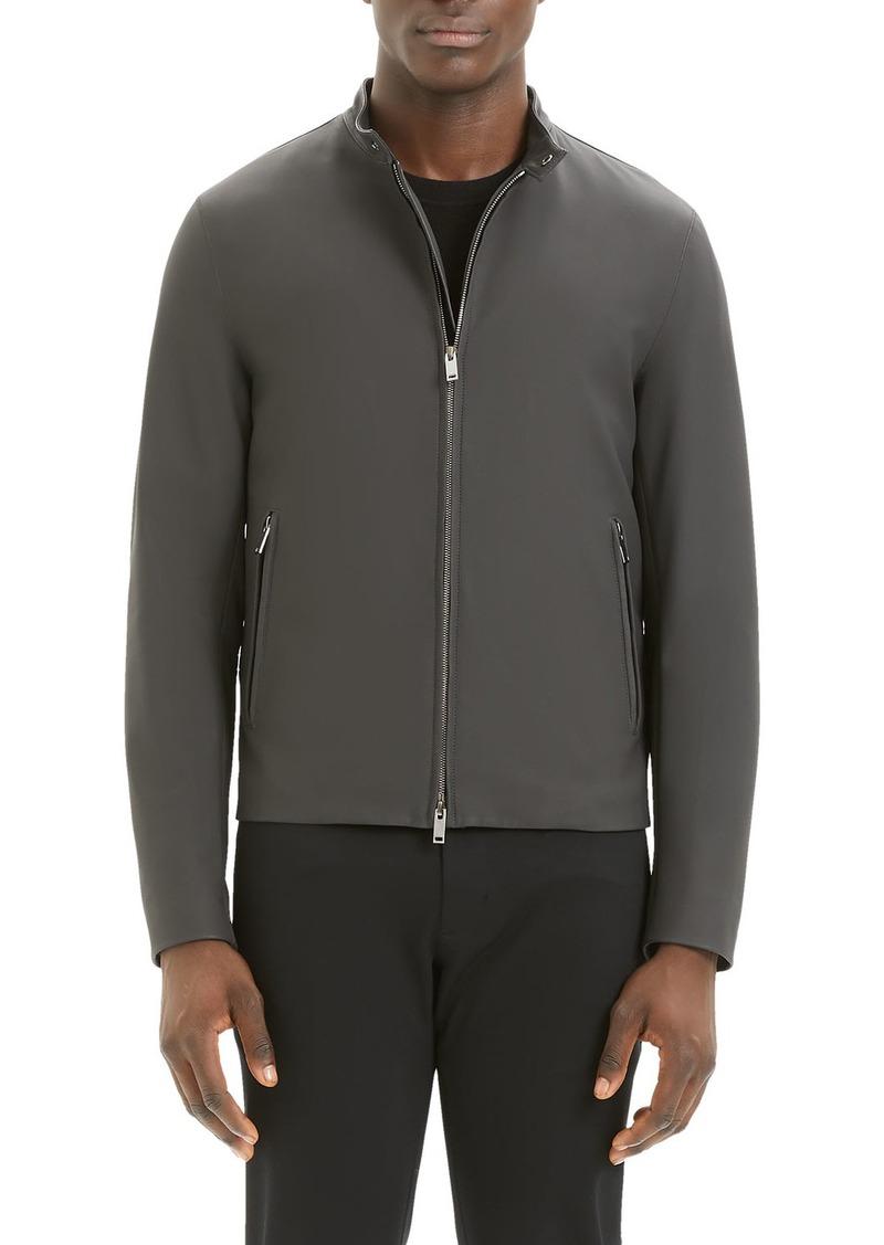 Theory Men's Wyndsor Reba Leather Jacket