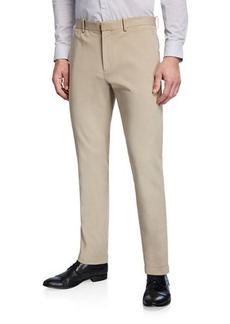 Theory Men's Zaine Double-Stretch Straight-Leg Pants