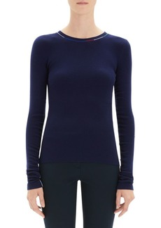 Theory Merino Wool Crewneck Sweater
