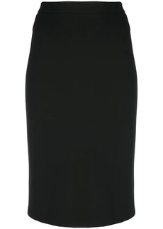 Theory midi pencil skirt