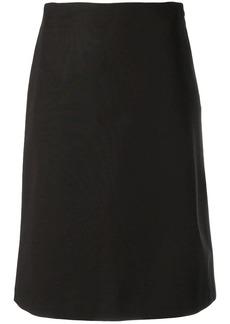 Theory midi straight skirt