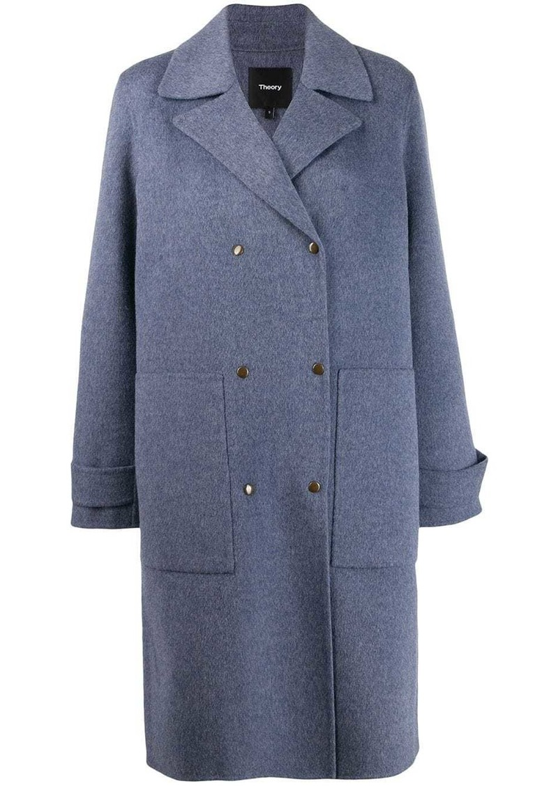 Theory military coat