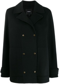 Theory military peacoat