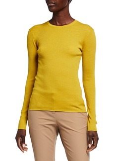 Theory Mirzi Regal Wool Rib Sweater