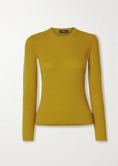 Theory Mirzi Ribbed Merino Wool-blend Sweater