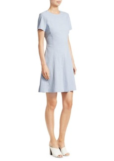 Theory Modern Seamed Shift Dress