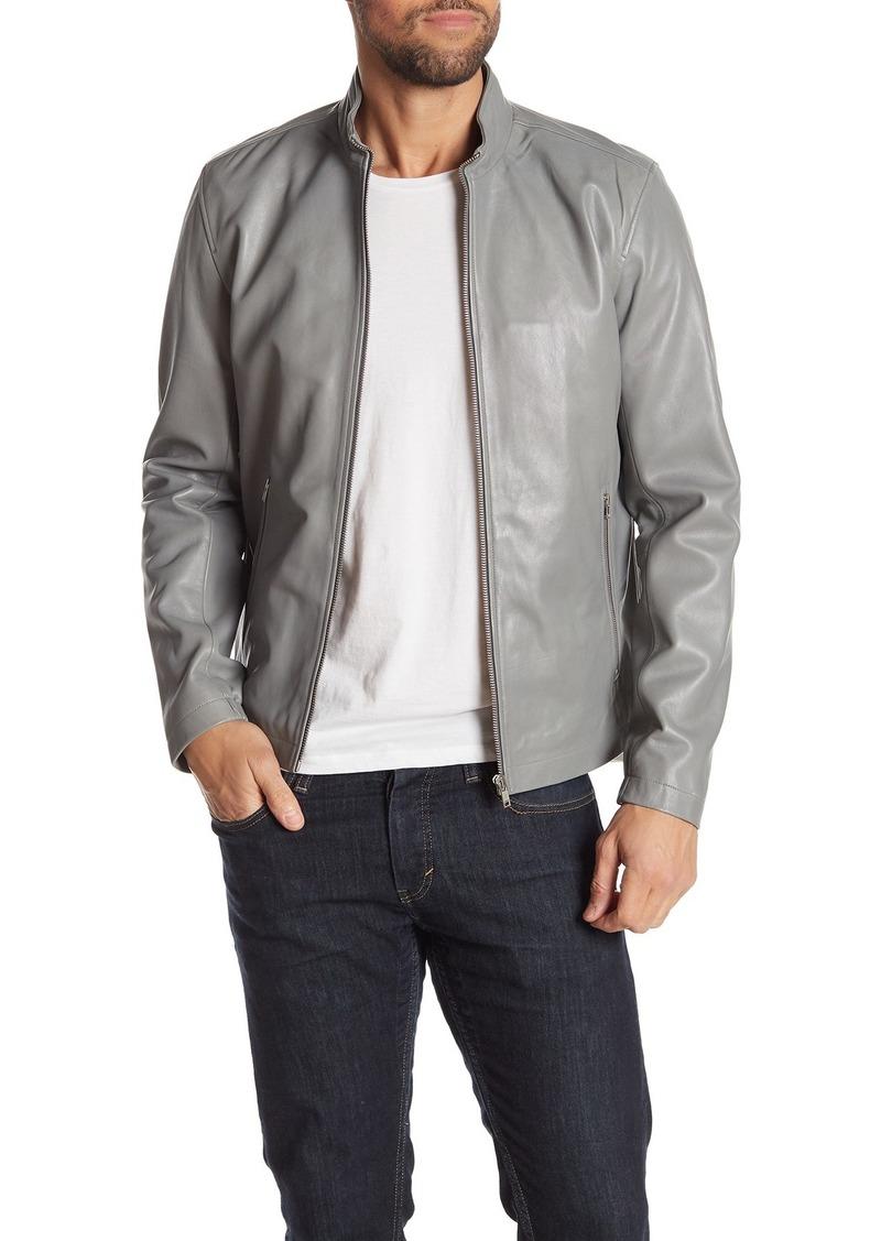 bcf1ef793e Theory Morvek L.Stein Sheepskin Leather Jacket | Outerwear