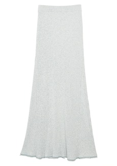 Theory Mouline Ribbed Maxi Skirt