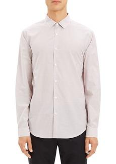 Theory Murrary Cotton Poplin Sportshirt