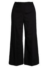 Theory Nadeema Crunch Cropped Pants