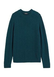 Theory Nardo Cable Knit Sweater